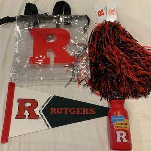 Rutgers University Sports Fan Swag Bag